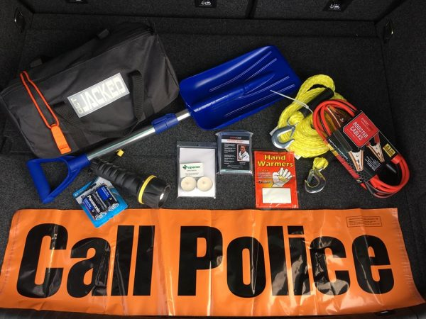 Contents of safety kit