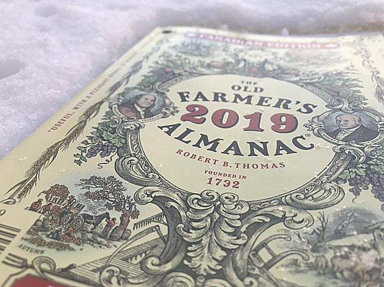 The Old Farmer's Almanac Winter Predictions